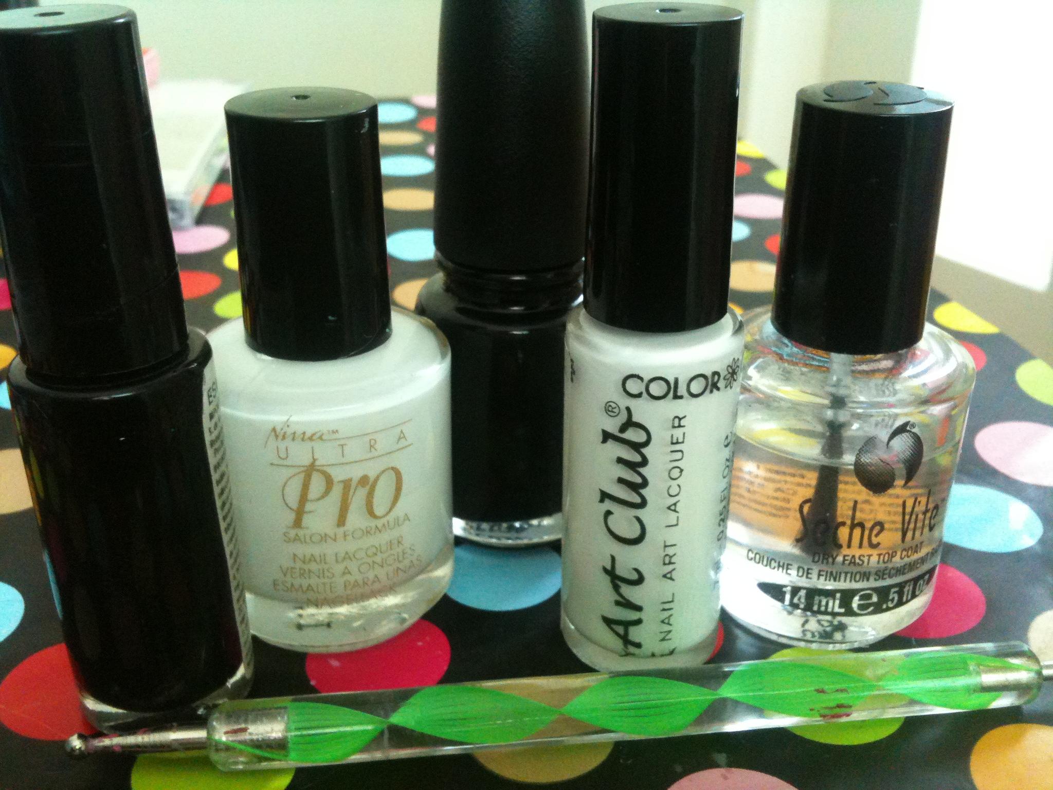 Uñas del día: Yin Yang | Adrix Nails: Uñas, barnices, nail art!♥