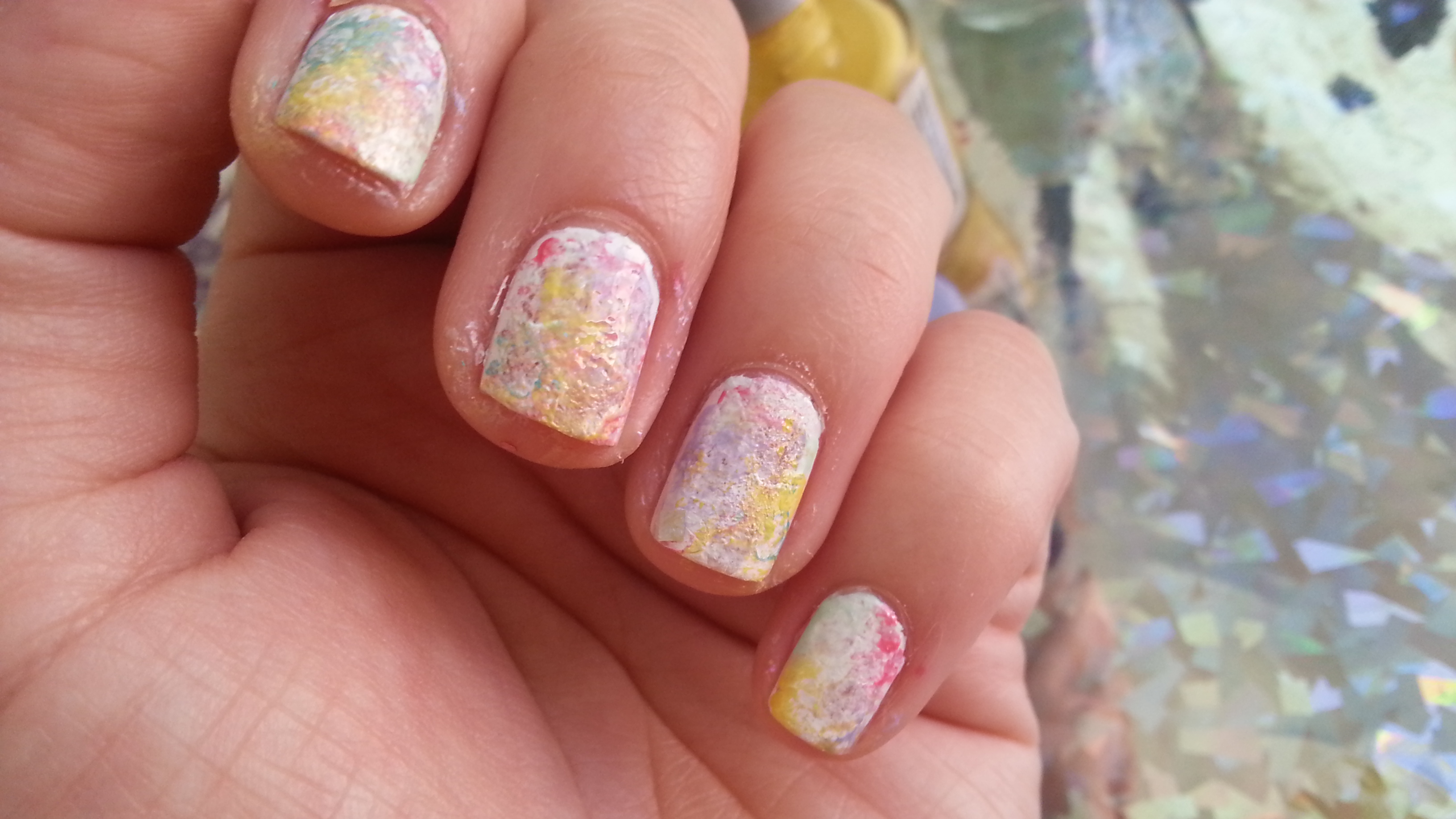 "Tutorial: Uñas de ""acuarela""   Adrix Nails: Uñas, barnices, nail art!♥"