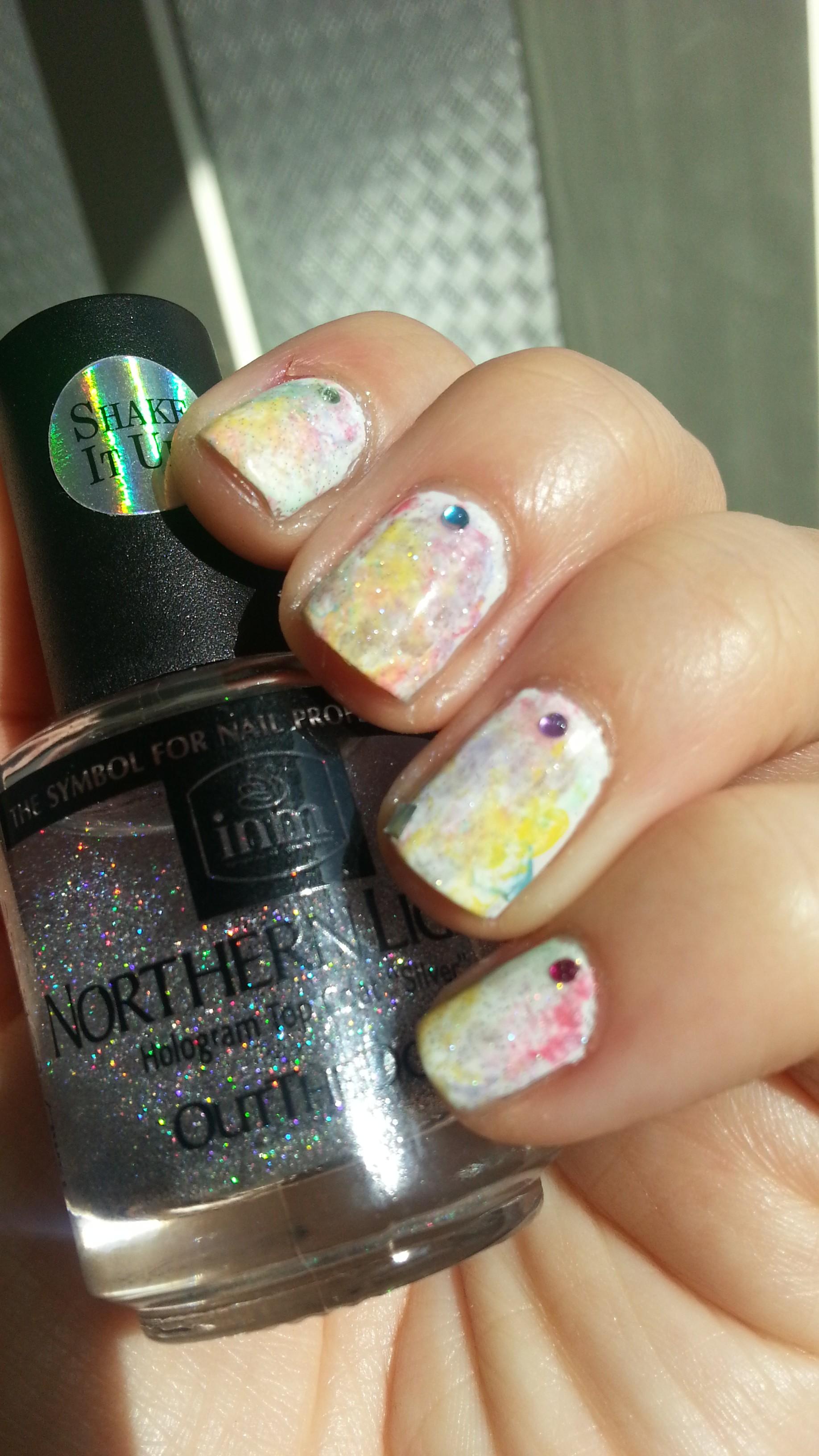 "Tutorial: Uñas de ""acuarela"" | Adrix Nails: Uñas, barnices, nail art!♥"