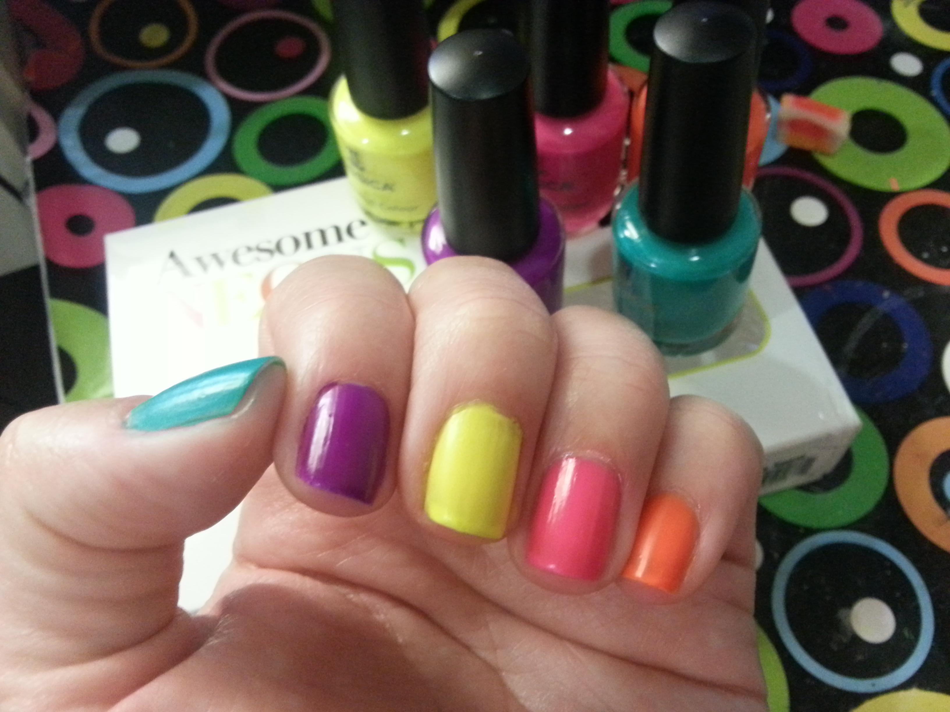 Colores de unas colores de unas dibujos colores vivos - Color de unas de moda ...