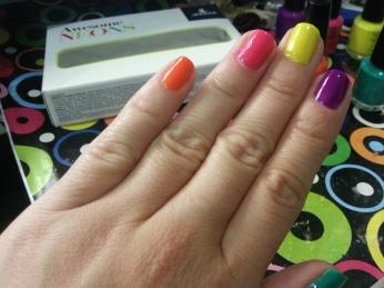 tendencia, moda, colores neon, uñas, neon, nail art, neones, primavera verano 2013, jessica nails, esmaltes, nail polish, barnices, barniz neon, decoracion de uñas, nails, adrix nails
