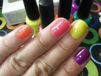 tendencia, moda, colores neon, uñas, neon, nail art, neones, primavera verano 2013, jessica nails, esmaltes, nail polish, barnices, barniz neon, decoracion de uñas, nails, adrix nails, Nail Polish Love - Un blog mexicano dedicado al nail art