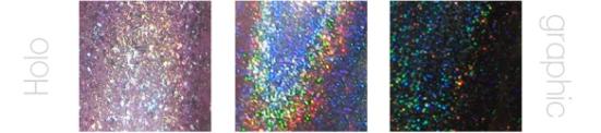 holográfico, texturas de los esmaltes, uñas, nail art, nails, nail polish, barniz, tipos de esmaltes