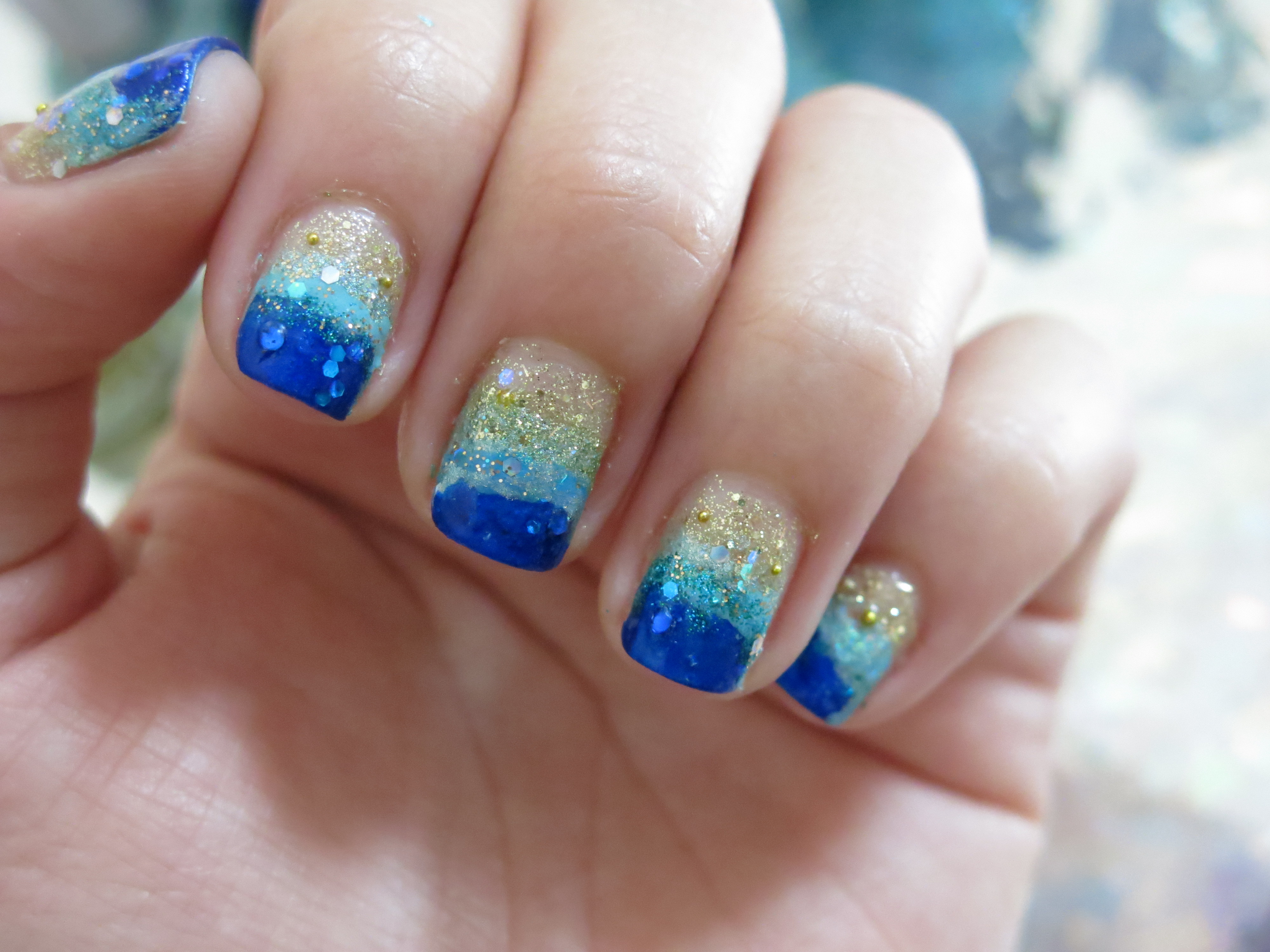 Tutorial: Uñas de playa | Adrix Nails: Uñas, barnices, nail art!♥