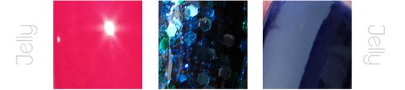 jelly, texturas de los esmaltes, uñas, nail art, nails, nail polish, barniz, tipos de esmaltes
