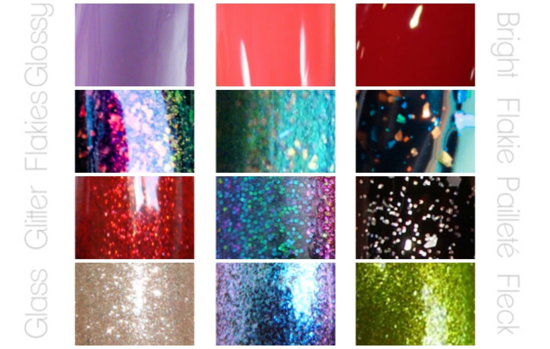 aperlado, texturas de los esmaltes, uñas, nail art, nails, nail polish, barniz, tipos de esmaltes, glosario, texturas, acabados de esmaltes,