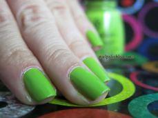 nailpolishlove.me un blog mexicano dedicado al nail art, uñas, nails, nail art, verde, china glaze, cirque du soleil, nail magic, green, nail polish, esmaltes, colores, uñas fáciles, paso a paso, DIY, fashion, moda, barniz de uñas