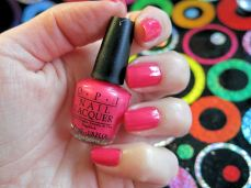 nailpolishlove.me un blog mexicano dedicado al nail art, couture de minnie, nail art, swatches, A definite Moust-have, nail magic, OPI, uñas, esmaltes, rosa, Minnie Style