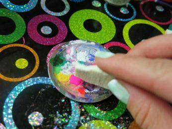 menta, rosa, naranja, esmaltes, nailpolishlove.me un blog mexicano dedicado al nail art, nails, nail polish, nail art, decoración de uñas, estampado, verano, neon, tutorial, paso a paso, uñas fáciles, decoración de uñas, DIY, diseños fáciles, easy designs
