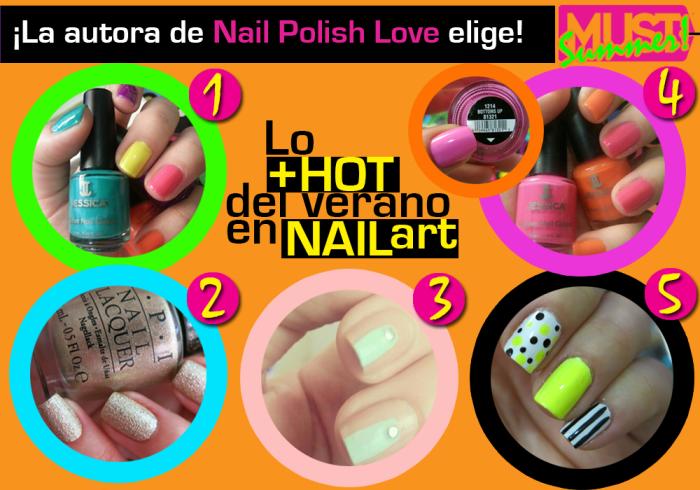 summer trends, nails, nail art, uñas, esmaltes, verano, tendencia, must wanted, neón, stripes, polka dots, textura, verano, nailpolishlove.me blog mexicano dedicado al nail art