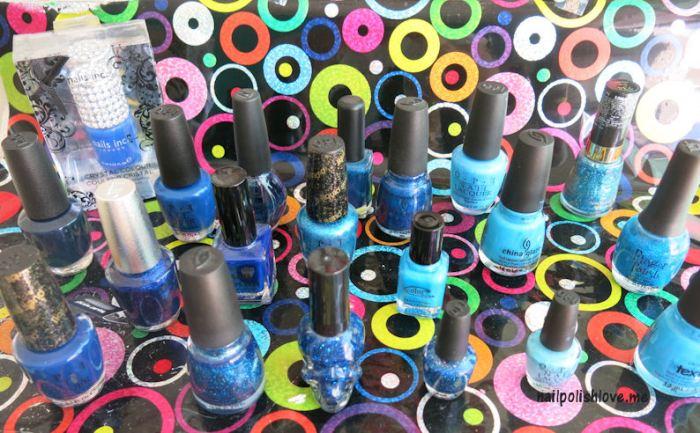nails, nail polish, OPI, san francisco, swatches, esmaltes, uñas, colores, azul, reto ABC