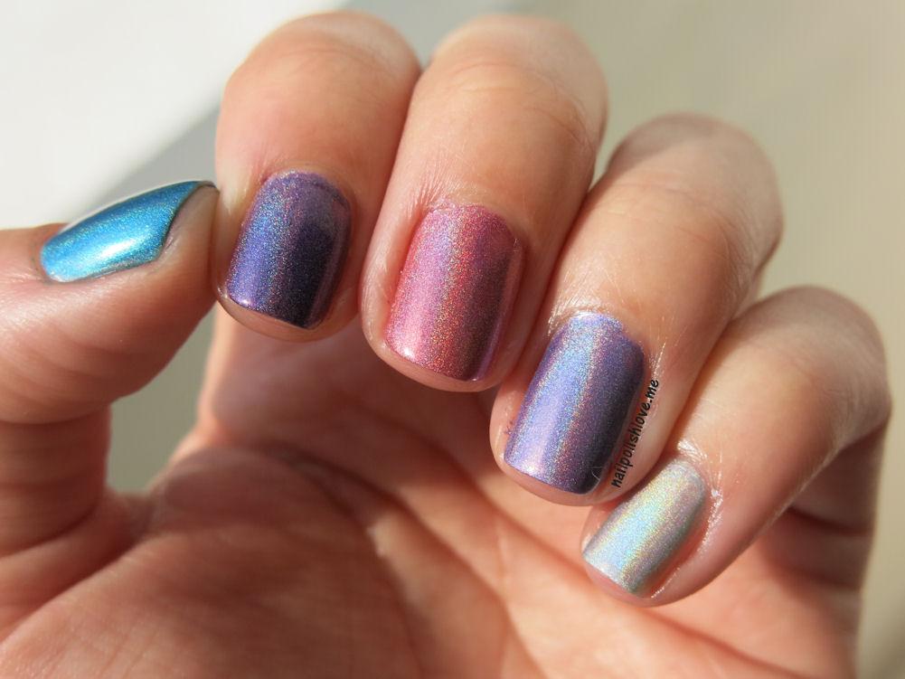 H de Holographic Skittles | Adrix Nails: Uñas, barnices, nail art!♥