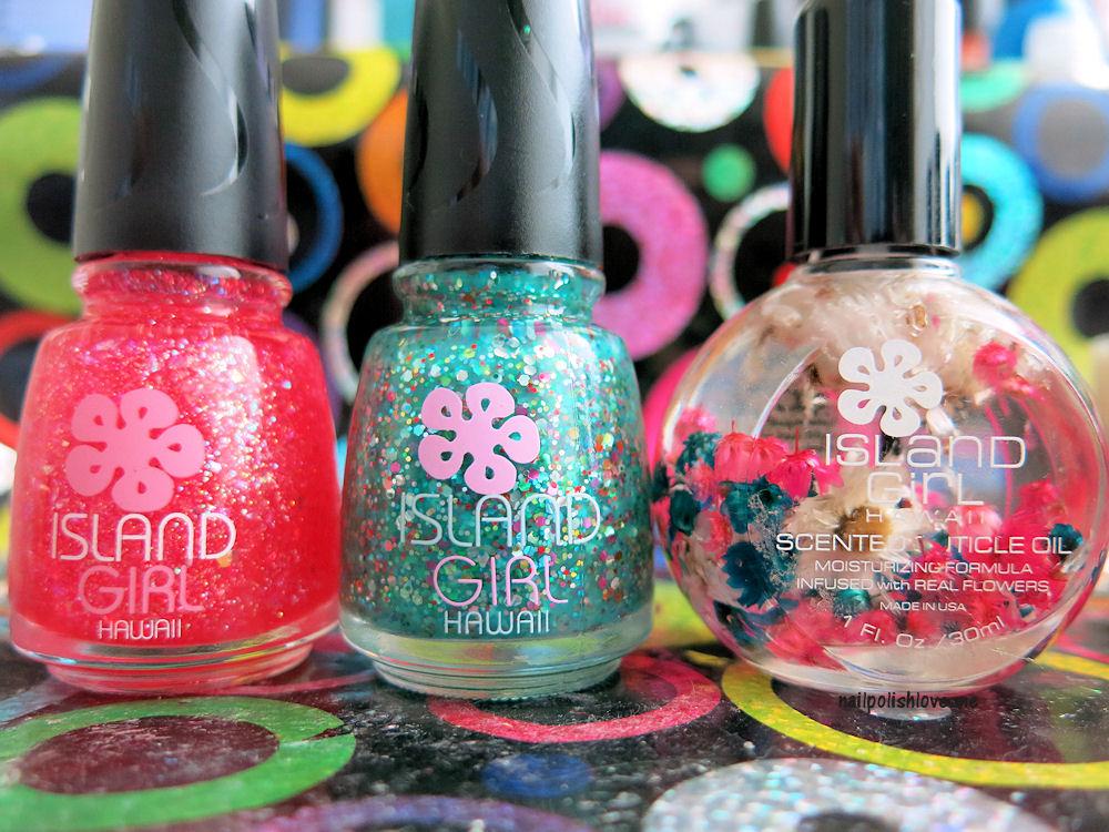 Colores: Island Coast de Island Girl | Adrix Nails: Uñas, barnices ...