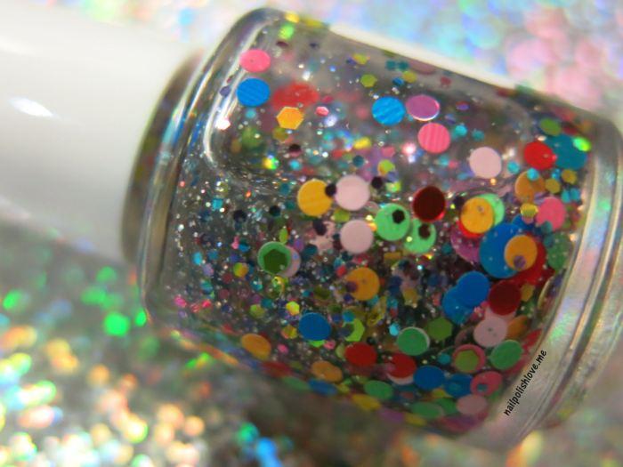 uñas, nails, esmalte, nail polish, esmaltes indie, indie polishes, polish me silly, glitter, clowning around, vegas nights, blue gypsy, monster mash, TGIF, surprise me, independientes, glitter sandwich, cool, colores, esmalte de uñas, nailpolishlove.me blog mexicano dedicado al nail art
