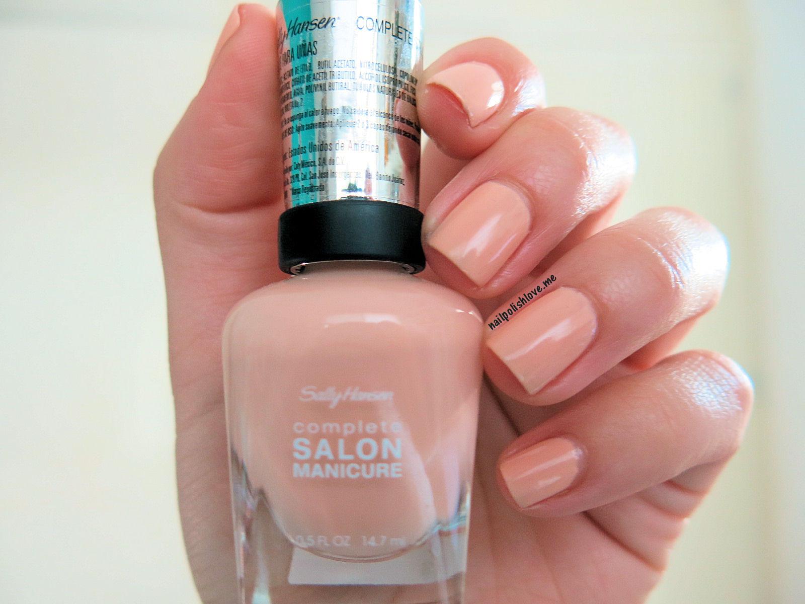Colores: Royal Blush de Sally Hansen | Adrix Nails: Uñas, barnices ...