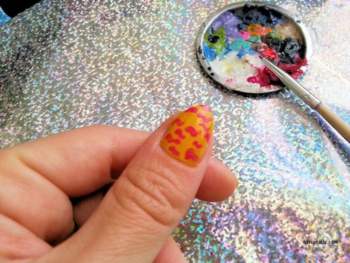 OPI, pointy nails, stiletto, uñas picudas, uñas cortas, camuflaje, Wah Nails,  Adrix Nails, uñas, esmaltes, nails, nail art, nail polish, trend, piel, maquillaje, nailpolishlove.me blog mexicano dedicado al nail art, esmaltes, swatches, swatch, pinturas de uñas