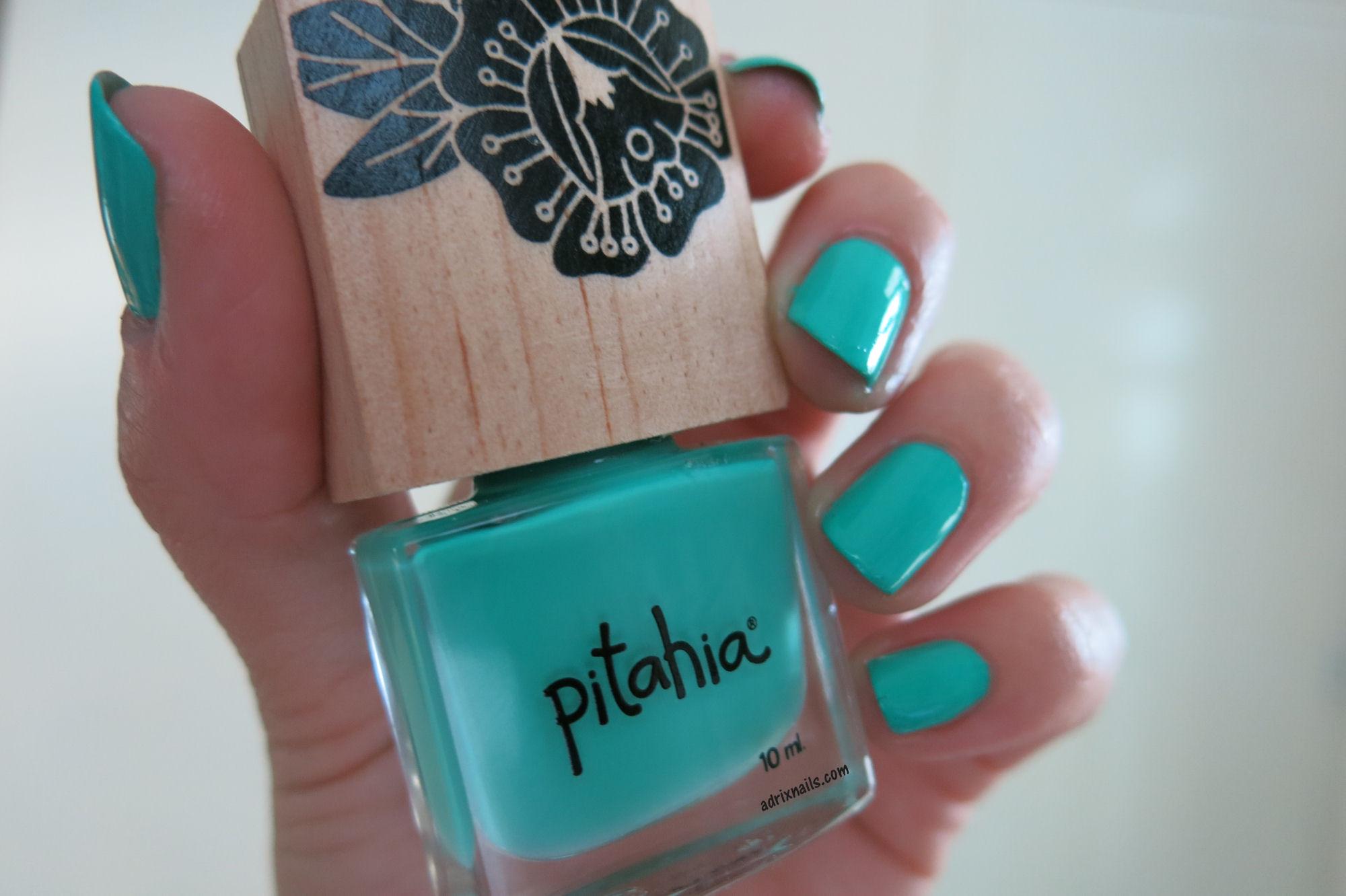 "Colores: Pitahia ""Verde Laguna"" | Adrix Nails: Uñas, barnices, nail ..."