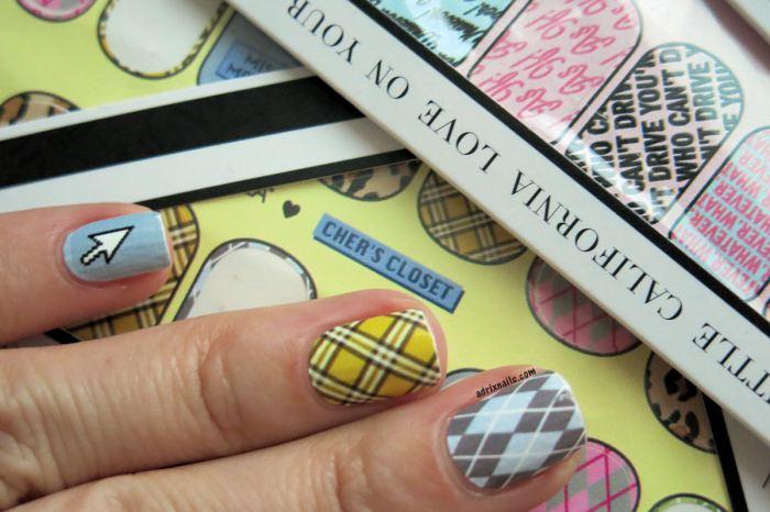 uñas, nails, nailart, nail wraps, decoracion de uñas, calcomanias para uñas, NCLA, esmaltes, paso a paso, uñas fáciles, nail polish, Clueless