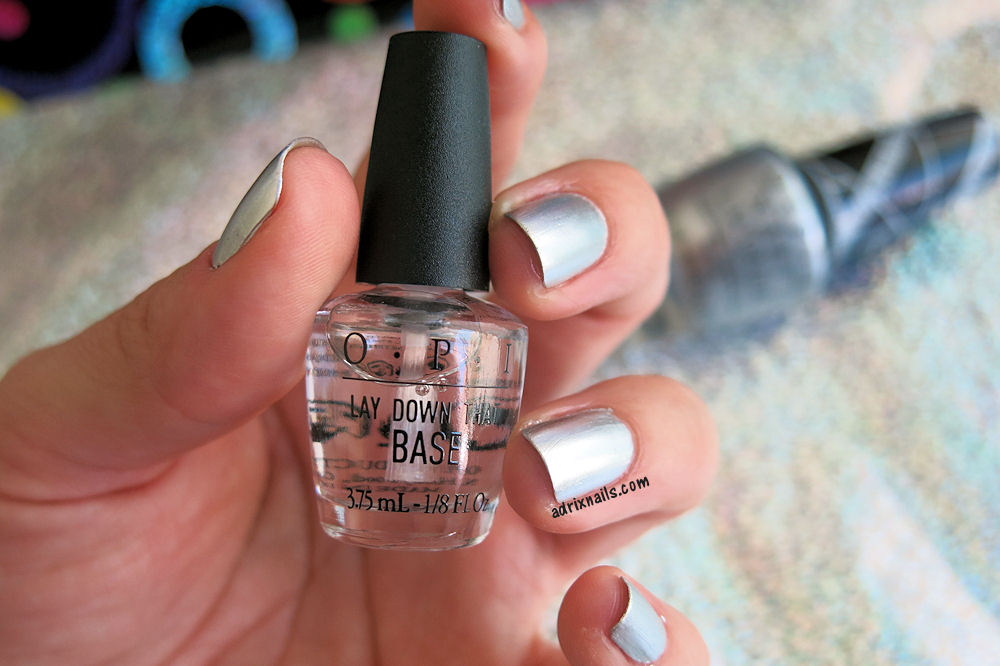Colores: OPI -Push and Shove- Gwen Stefani   Adrix Nails: Uñas ...