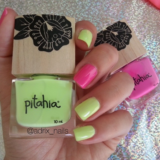 COLORES: PITAHIA -MIMOSA Y PEONIA- | Adrix Nails: Uñas, barnices ...