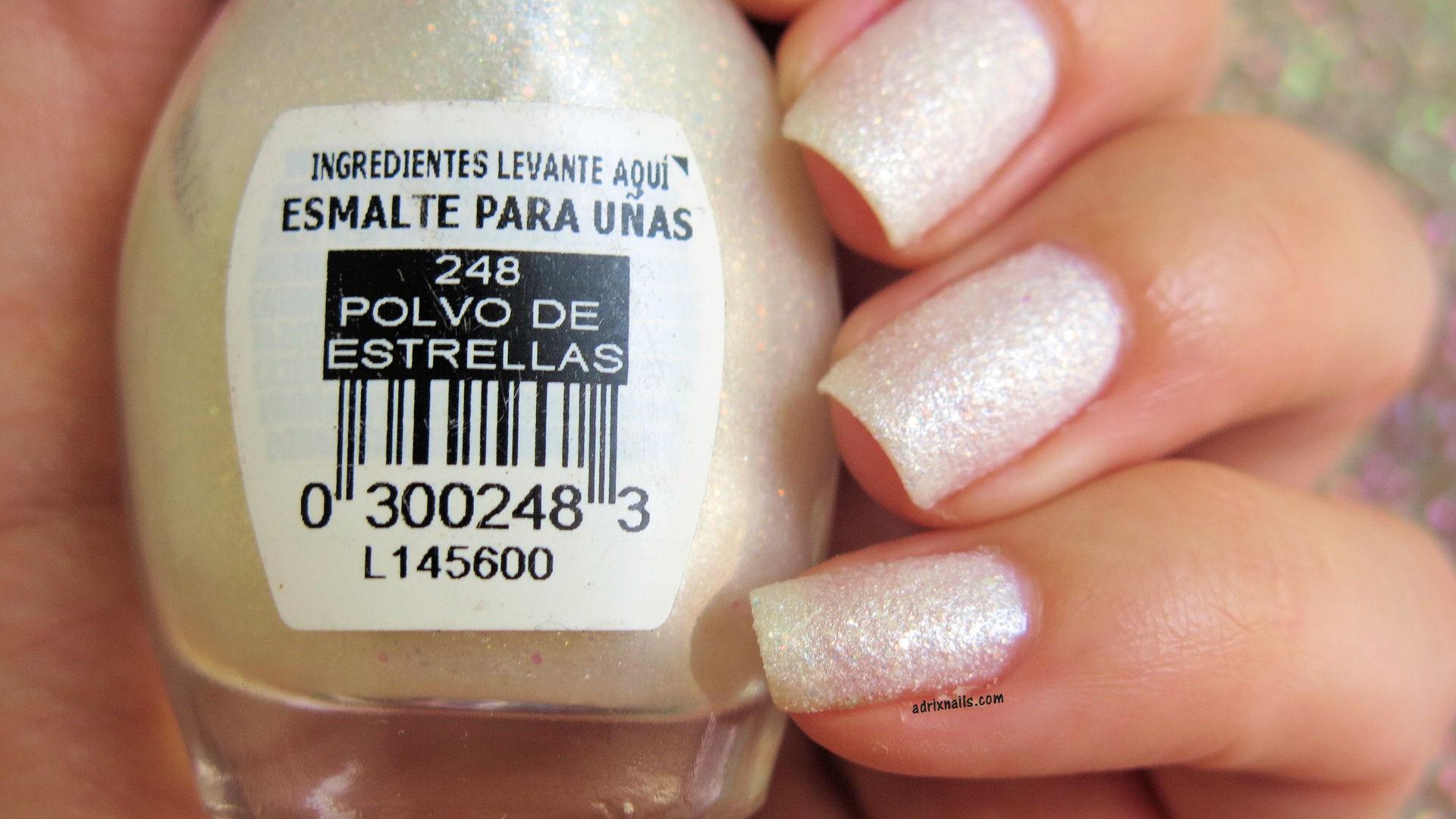 Colores: Bissú -Polvo de Estrellas- | Adrix Nails: Uñas, barnices ...