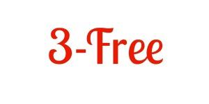 3 free