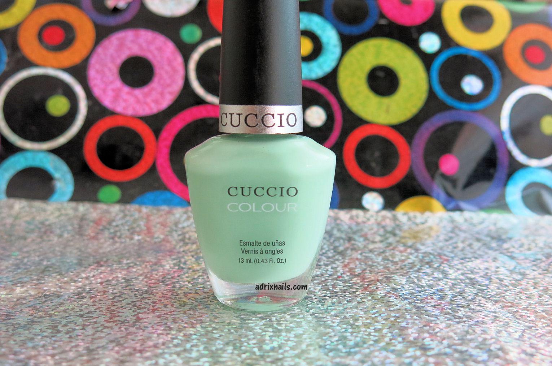 Colores: Cuccio Colour -Mint Condition- | Adrix Nails: Uñas ...