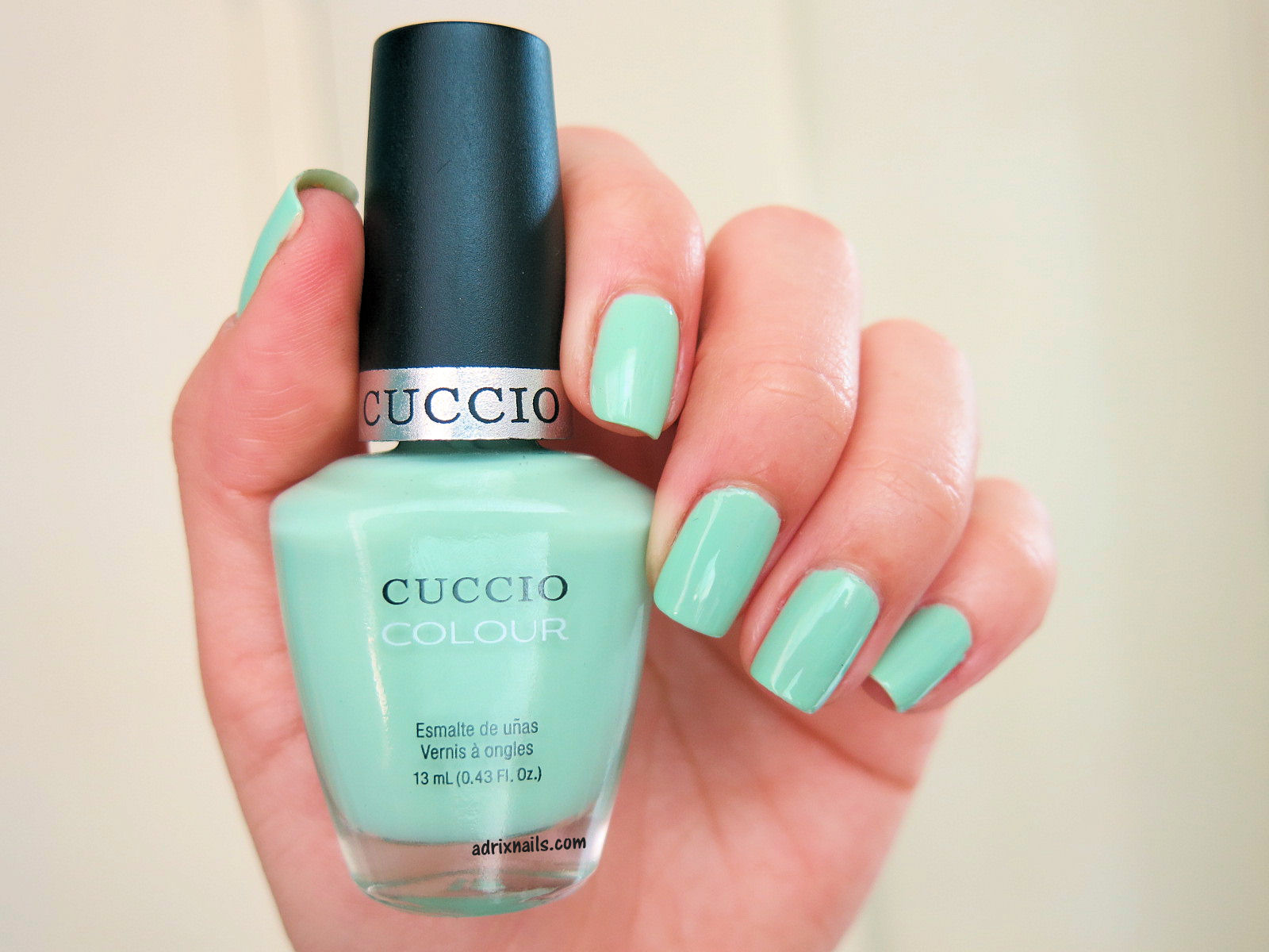 Colores: Cuccio Colour -Mint Condition- | Adrix Nails: Uñas ...