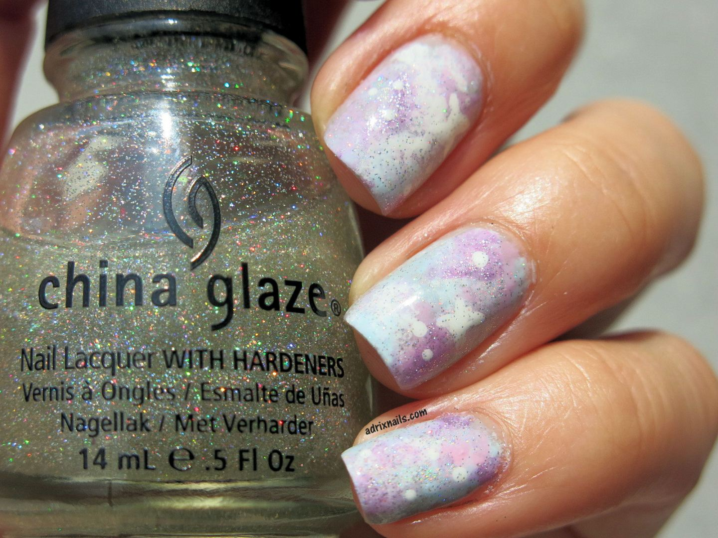nails, uñas, nail art, esmaltes, tutorial, uñas fáciles, uñas paso a paso, easy nails, DIY, step by step, galaxia, uñas de galaxia, colores pastel, galaxy nails, pastel galaxy nails, adrixnails, blog mexicano, blogs mexicanos de nail art, bloggeras mexicanas