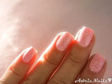 octubre rosa, pink october, glitter rosa, fuerza rosa, cancer de mama, breast cancer awareness, sally hansen, chicvillage, glitter en polvo, glitter suelto, diy nails, uñas paso a paso, esmalte rosa, at first blush, esmaltes, uñas, swatches, nails, nail art, nail polish, colores, review, adrix nails, blog mexicano dedicado al nail art, blogueras mexicanas, mexican bloggers, blogs de méxico, nailpolishlove,