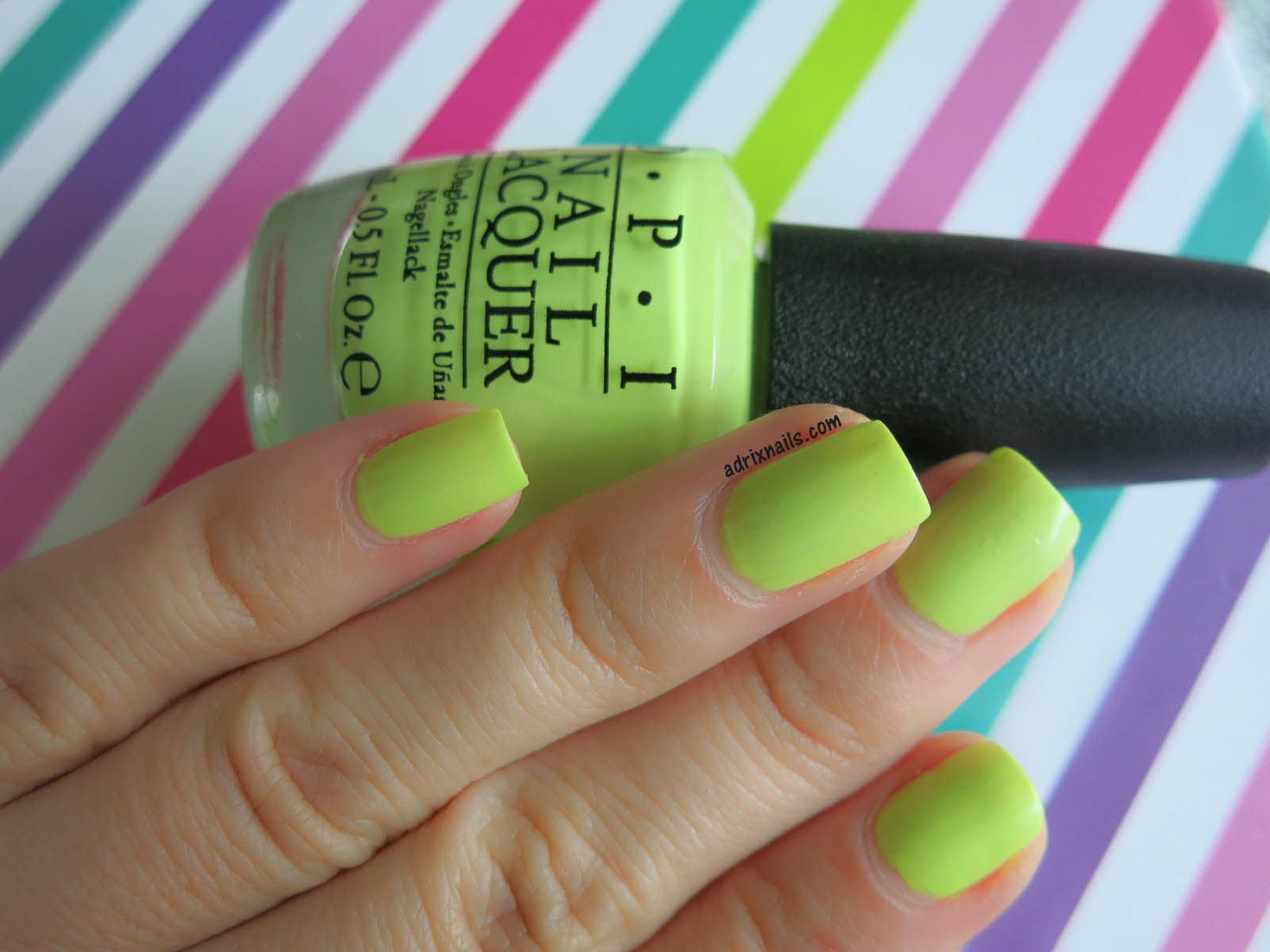 Uñas del día: Life Gave Me Lemons de OPI & Festival Love de Claire\'s ...