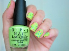 OPI, life gave me lemons, verde neon, esmalte verde neon, glitter, claires, festival love, glitter mate, verde, glitter multicolor, diy nails, uñas paso a paso, esmalte rosa, at first blush, esmaltes, uñas, swatches, nails, nail art, nail polish, colores, review, adrix nails, blog mexicano dedicado al nail art, blogueras mexicanas, mexican bloggers, blogs de méxico, nailpolishlove,