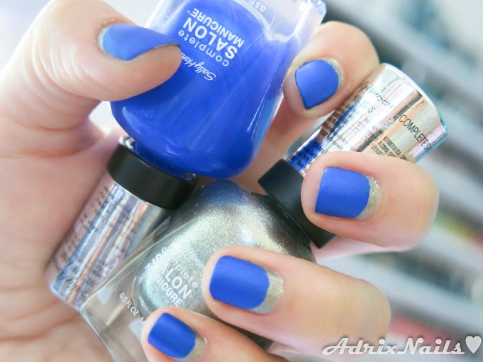 Sally Hansen - Shoot The Moon y Batbano Blue-11