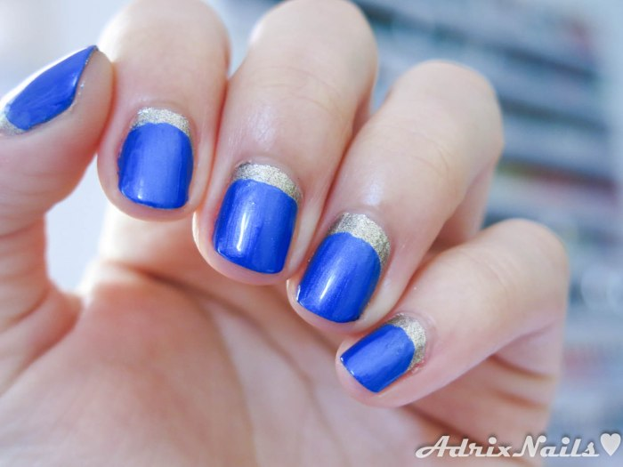 Sally Hansen - Shoot The Moon y Batbano Blue-9