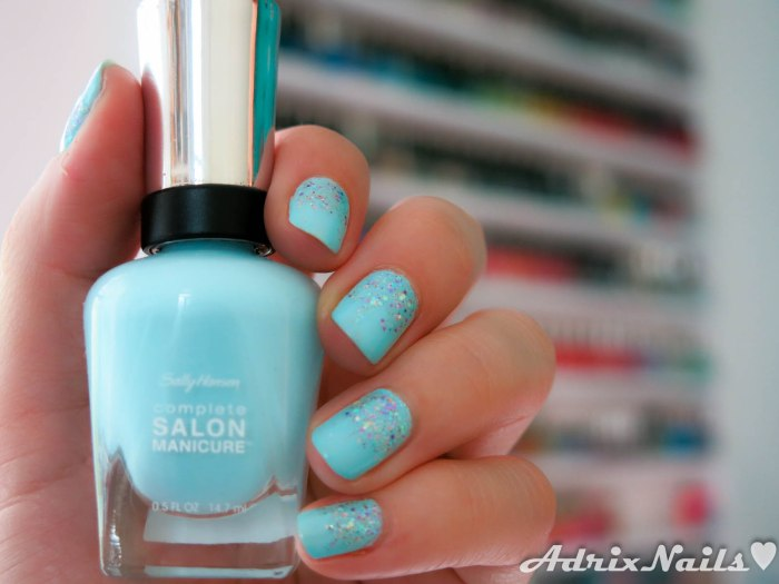 Sally Hansen y Shimmer Polish - Barracuda y Astrid-6