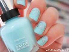 shimmer polish, astrid, indie polish, barracuda, baby blue, glitter iridiscent, iridiscent glitter, tornasol, glitter gradient, sally hansen, diy nails, uñas paso a paso, esmalte rosa, at first blush, esmaltes, uñas, swatches, nails, nail art, nail polish, colores, review, adrix nails, blog mexicano dedicado al nail art, blogueras mexicanas, mexican bloggers, blogs de méxico, nailpolishlove,