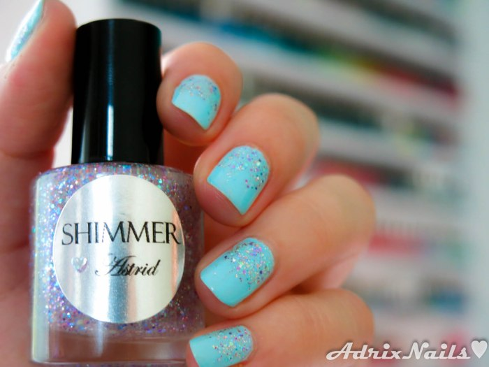 Sally Hansen y Shimmer Polish - Barracuda y Astrid