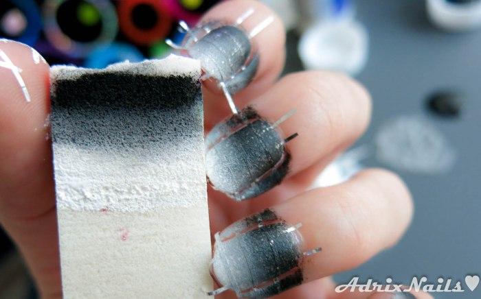 Cintilla y pintura acrílica-6