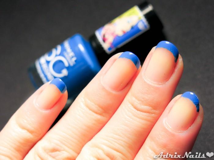 Francés Azul con Rimmel London-10