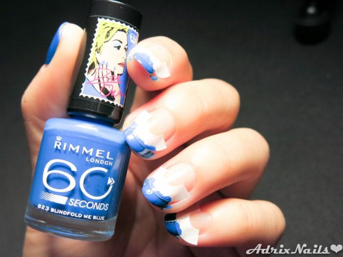 Francés Azul con Rimmel London-6