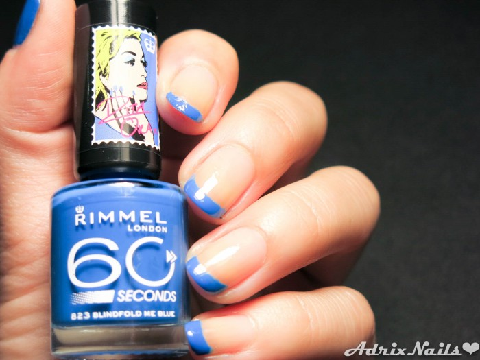 Francés Azul con Rimmel London-8