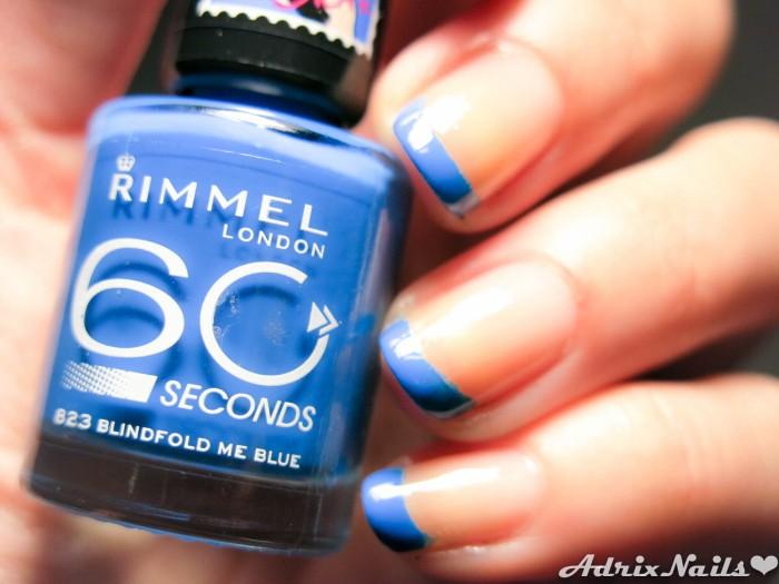 Francés Azul con Rimmel London-9
