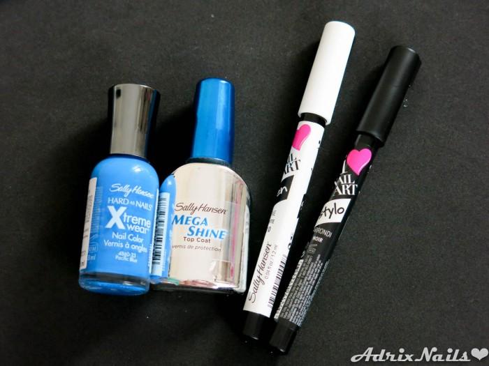 Pacific Blue y Nail Art Pens - Sally Hansen-6