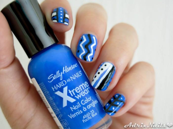 Pacific Blue y Nail Art Pens - Sally Hansen-8