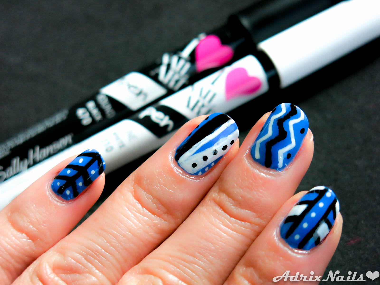 pacific blue y nail art pens – sally hansen-9 | adrix nails: uñas
