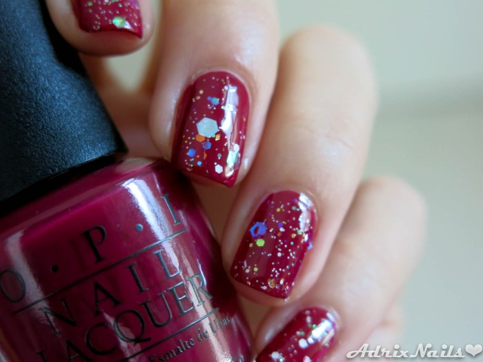 OPI - Just Beclause & Snow Globetrotter-13