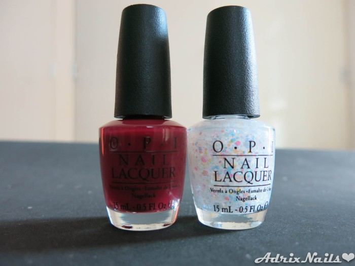 OPI - Just Beclause & Snow Globetrotter-15