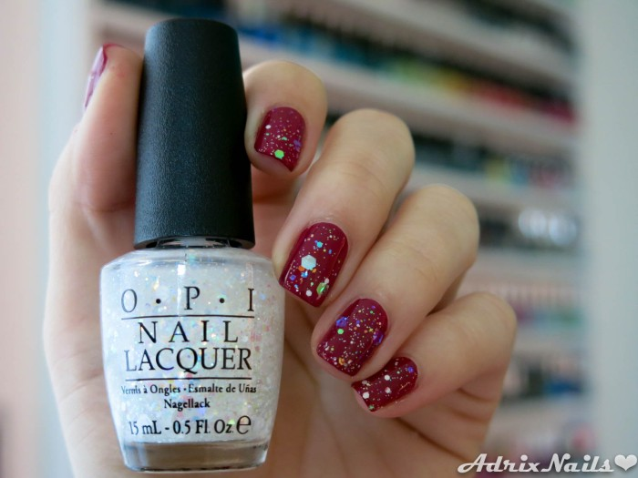 OPI - Just Beclause & Snow Globetrotter-8
