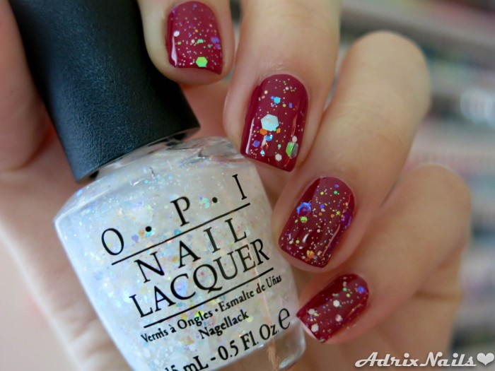 OPI - Just Beclause & Snow Globetrotter-9