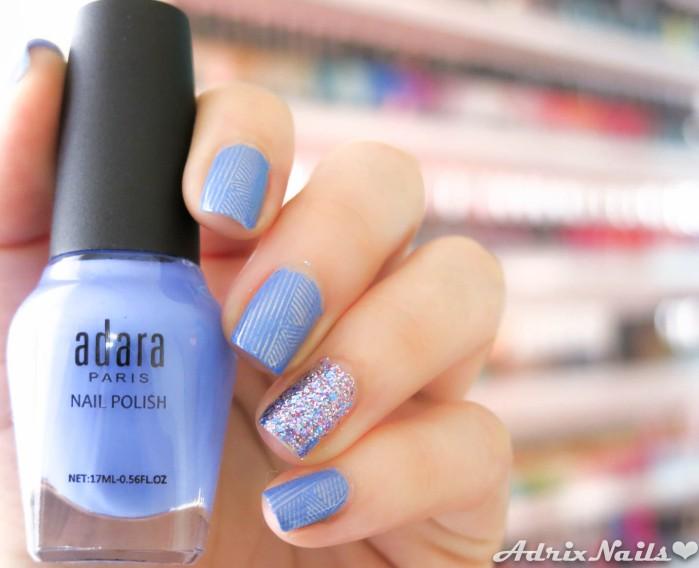 Adara, Stamping y Shimmer Polish-2